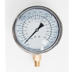 "Replacement 4"" Gauge for USABlueBook® Flow Testing Diffusers' 100 PSI/1680 GPM"