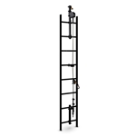 3M™ Ladder Safety System, Galvanized Steel, 80'