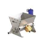 Scaletron VMF-90D Explosion-Proof Volumetric Screw Feeder w/ Loss-in-Weight Control' Stainless Steel