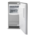 GE® Ice Maker with Storage Bin