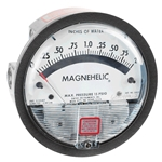 "Dwyer® Magnehelic® Differential Pressure Gauge, 0 to 2.0"" of water, 2002"