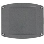 Dwyer IEF-Series Blank Lid (Includes Gasket and 4 Screws), A-IEF-LID