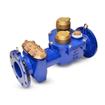 "Zenner 4"" ZCS Single Body Compound Water Meter, Direct Read US Gallon Register"