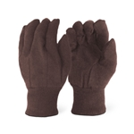 Brown Fleece Insulated Gloves, 12 Pair/Case
