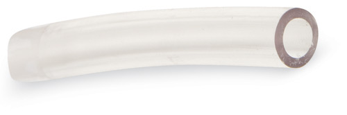 "1/2""OD x 3/8""ID Clear PVC Suction Tubing, 25-ft Roll"
