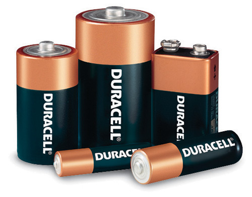 Duracell Coppertop Battery Size D 4 Pack