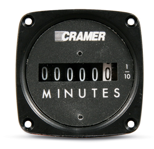 Cramer AC Voltage Minute Meter Square