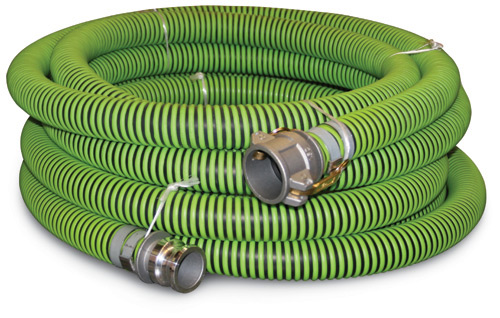 "All Weather Suction Hose 2.5"" NPT(M) & Quick Alum(F) 20'"