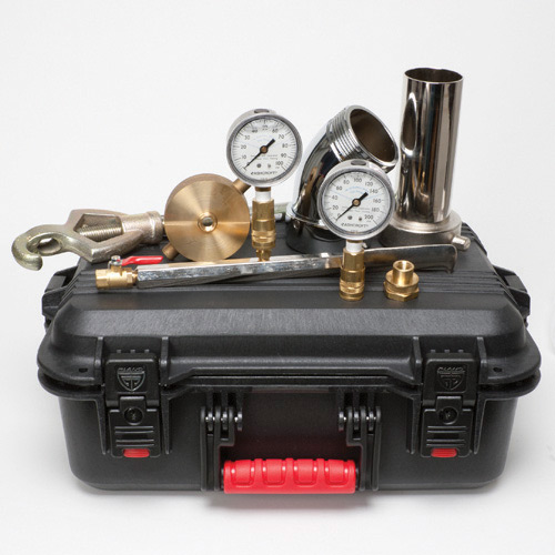 USABlueBook Hyd. Flow Test Kit Gauges 100psi and 200 psi