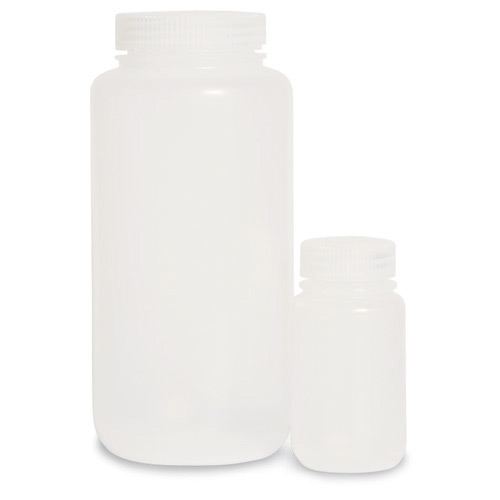 Nalgene Autoclavable Wide- Mouth Bottles, 500 mL, 12/pk