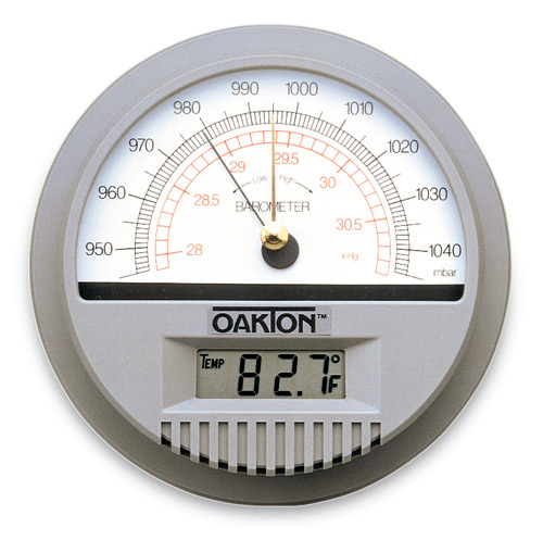 Oakton Wall-Mount Barometer/Thermometer