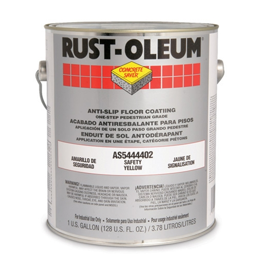 (OR) Anti-Slip Paint, Safety Yellow, AS5400 System, Gallon