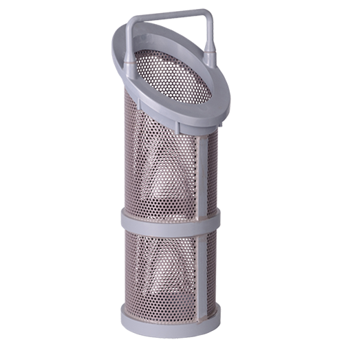 "SS Replacement Strainer for 1.5"" & 2"" Baskets, 40 Mesh (New Style)"