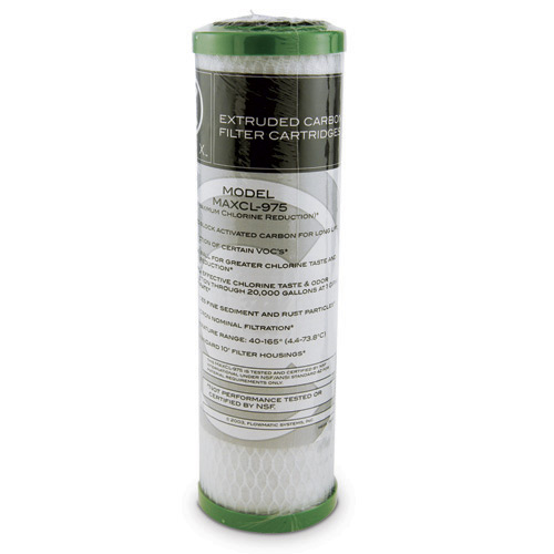 "Watts® Activated Carbon Block Filter Cartridge, 4.5"" x 10"""