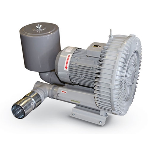 Republic Blower Package, 8.84 hp, 3 ph, KP4RC620-H57