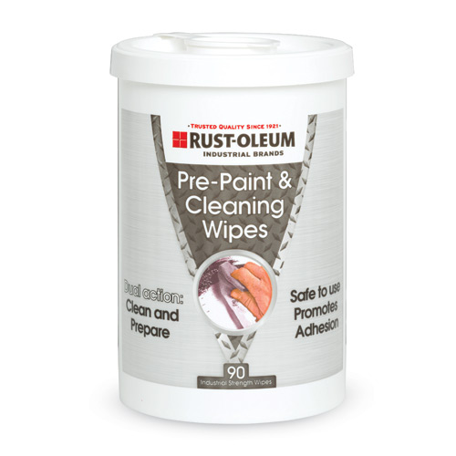 Rust-Oleum Pre-Paint and Cleaning Wipes' 90 Count