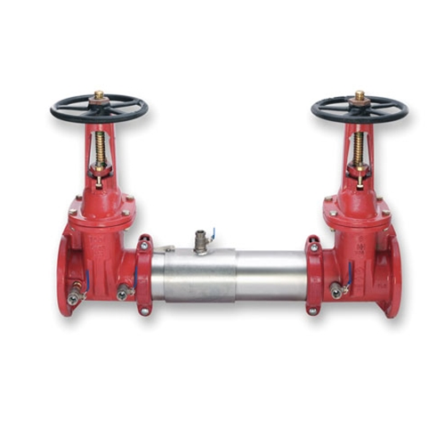 "Watts® 757-OSY Double Check Preventer' 8"" FLG' 0111514"