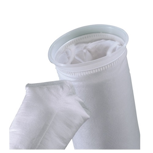 Pall Polyester Filter Bags' 25 µm' Size 1' Polypropylene PolyLoc Ring' 50/Case